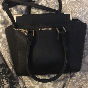 Calvin Klein hard shell purse